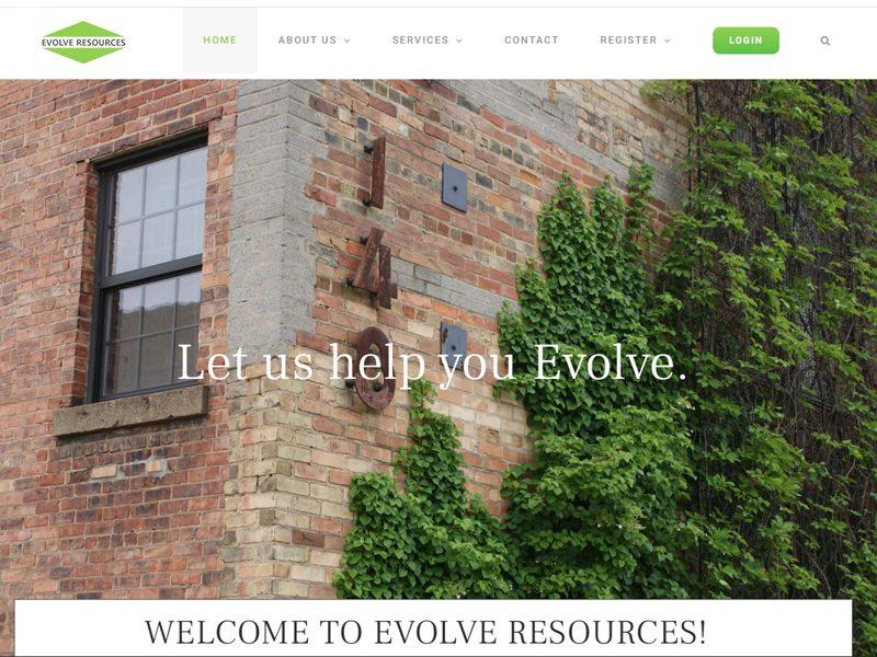 Evolve Resources Website